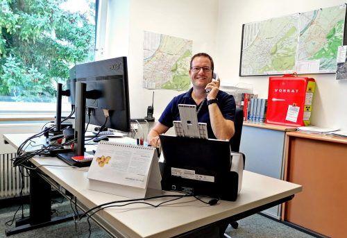Christian Klien ist der Projektverantwortliche für das Blackout-Konzept. Stadt