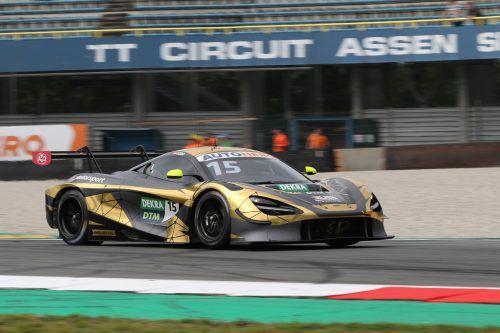 Christian Klien überraschte mit seinem McLaren-GT3-Boliden mit Platz fünf.gepa