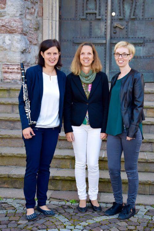 Daniela Walch, Monika Battisti und Caroline Fritz (alle von der Kinderkirche).
