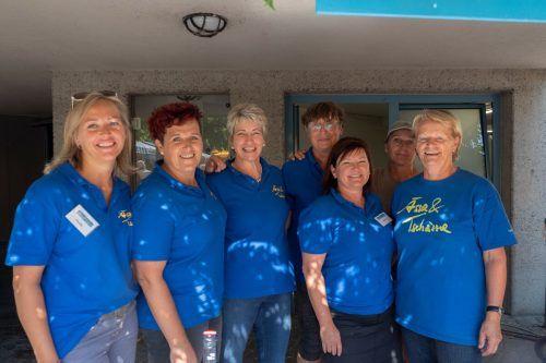 Das Ässa&Tschässa-Team war auch heuer wieder sehr um das Wohl der Besucher bemüht.