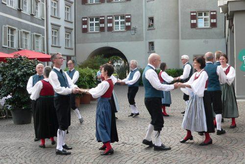 Das Auftanzen der Trachtengruppe Feldkirch in der Marktgasse ist fixer Bestandteil des Jahresprogramms. Morgen ist es wieder so weit.Verein