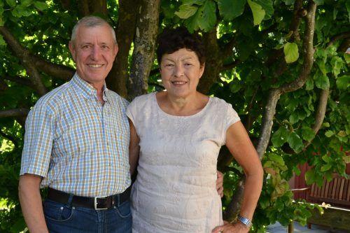 Das ehemalige Gastwirtepaar Erwin und Herlinde Schrottenbaum.