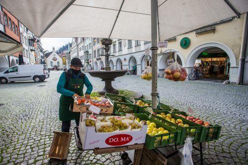 Das größte Wachstum kann die Montfortstadt Feldkirch mit 102 Millionen Euro verzeichnen.Philipp Steurer