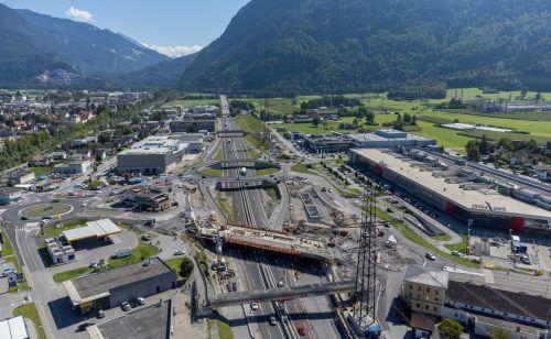 Das Millionenprojekt Autobahnanschluss Bludenz-Bürs geht in die finale Bauphase.VN/Stiplovsek