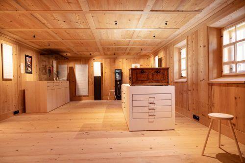 Das Museum der Barockbaumeister ist im adaptierten historischen Kurathaus in Au untergebracht. Serra