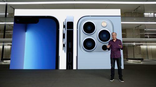 Das neue iPhone 13 hat bessere Kameras bekommen. AFP