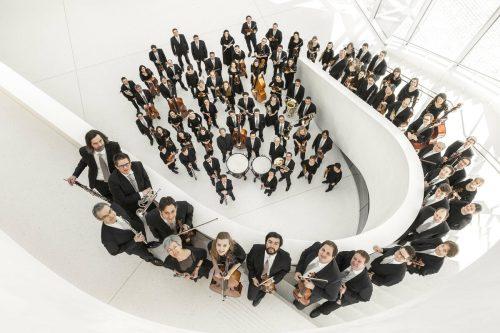 Das Repertoire des Symphonieorchesters Vorarlberg bewegt sich zwischen zeitgenössischer Musik und klassischen Werken.SOV/Thomas Schrott