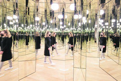 """Das Spiegellabyrinth gehört zu den Highlights der interaktiven Sonderausstellung """"Auf eigene Gefahr"""" – VN-Abonnenten erhalten ermäßigte Eintrittskarten.petra rainer"""