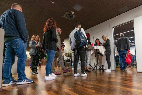 Der erweiterte Parteivorstand diskutierte in Götzis über fünf Stunden lang. VN/Stiplovsek