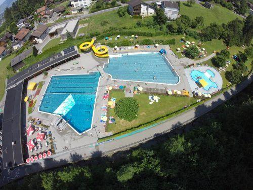 Der kalte Hochsommer sorgte für wenig Badelust. Ein Drittel weniger Badegäste verzeichnete das Freibad in der Riebe in Götzis. Mäser