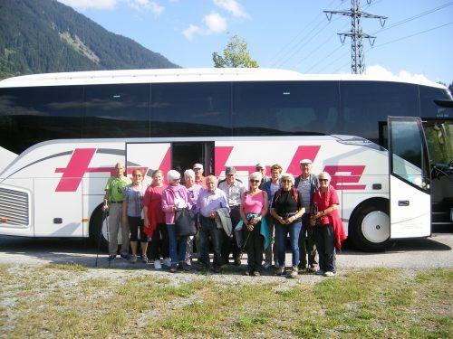 Der Landeswandertag führte die Hörbranzer Senioren in diesem Jahr auf das Hochjoch.Seniorenbund Hörbranz