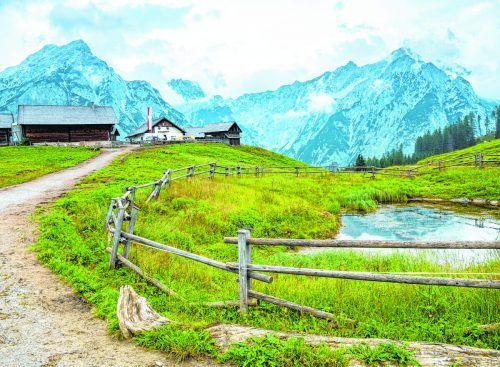 Der Naturpark Karwendel ist der größte Naturpark Österreichs und das älteste Schutzgebiet in Tirol. Shutterstock