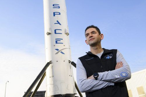 Der Pilot und Milliardär Jared Isaacman wird beim Flug dabei sein. AFP