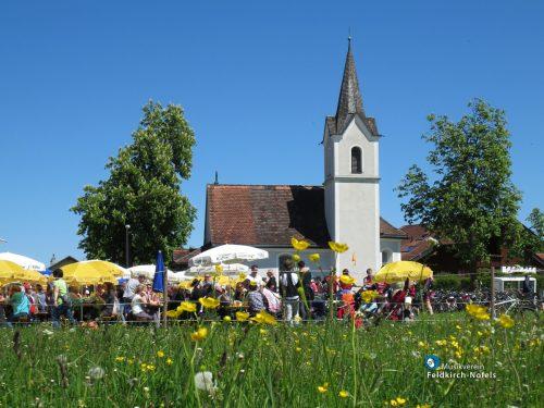 Der traditionelle Frühschoppen findet am 3. Oktober statt.Christian Lins/Musikverein Feldkirch-Nofels