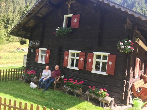 Der trauernde Witwer verbrachte mit seiner Tochter Birgit auch diesen Sommer auf der Silber-Ranch.VN/Kuster