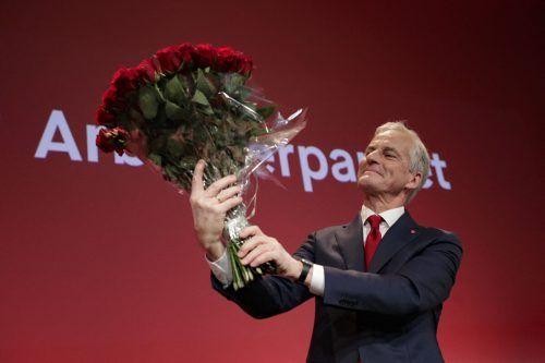 Der Vorsitzende der Arbeiterpartei, Jonas Gahr Støre, dürfte neuer norwegischer Ministerpräsident werden.AFP