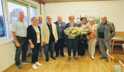Der Vorstand der Seniorenbörse Feldkirch. Verein