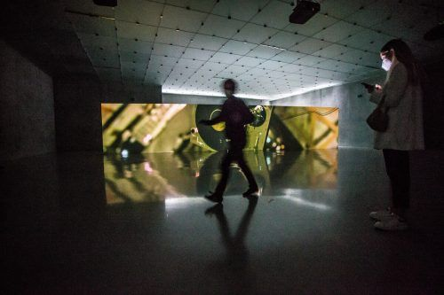 Die aktuelle Ausstellung im KUB ist Anri Sala gewidmet.