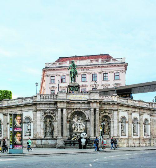 Die Albertina im 1. Wiener Gemeindebezirk gehört zu den bedeutendsten Museen der Stadt. Shutterstock (4)