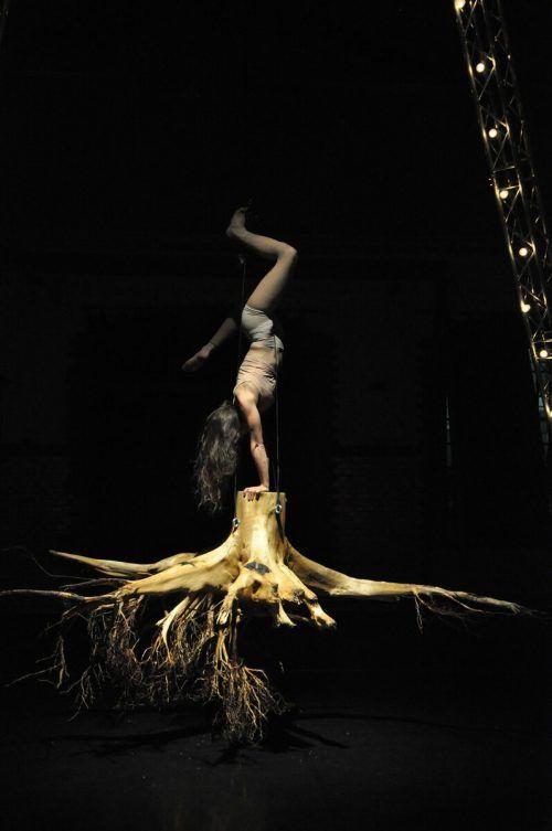 """Die Compagnie """"in_tensegrity"""" lädt zur Vorarlberg-Premiere von """"Striking Roots into the Void"""" in Lustenau.???"""