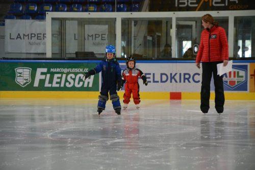Die Eislaufkurse in Feldkirch starten wieder.fev