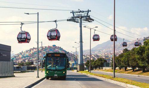 Die Firma Doppelmayr ist bereits weltweit Vorbild im Mobilitätsmix in urbanen Räumen. DOPPELMAYR.COM