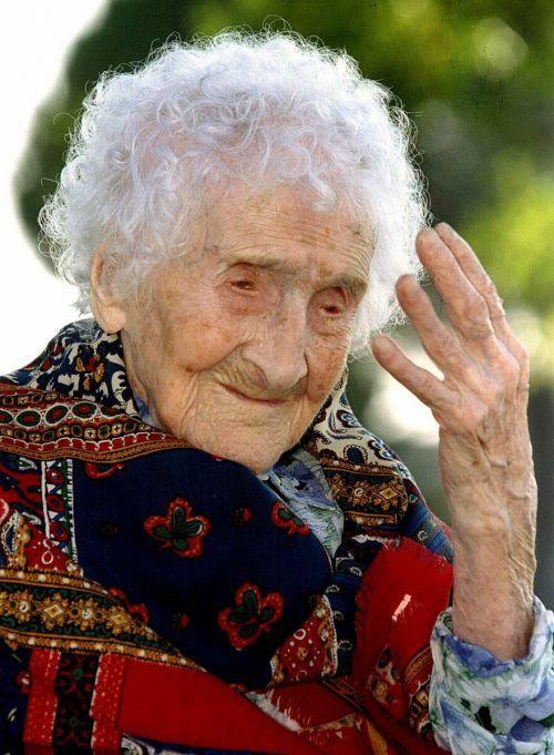 Die Französin Jeanne Calment wurde 122 Jahre alt.Reuters