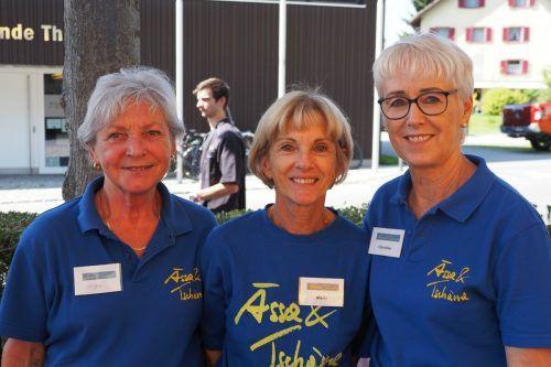 Die freiwilligen Helfer genossen den Auftakt der Ässa und Tschässa Veranstaltungsreihe ebenso wie die Besucher und Musiker.Gemeinde/TMH
