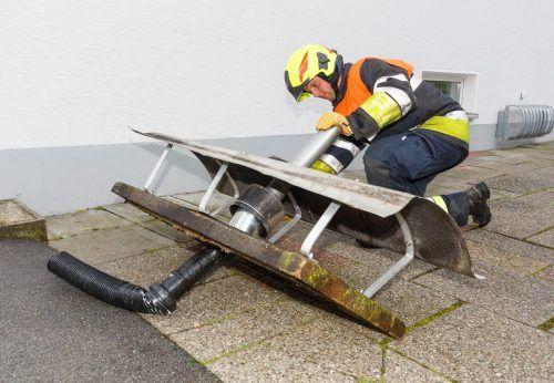 Die Gefahren von Wetterschäden und Hochwasser steigen durch den Klimawandel. Hofmeister