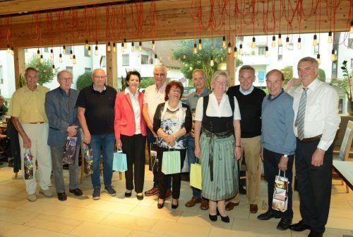 Die heurigen Jubilare der Ländle-Oberösterreicher.hapf/2