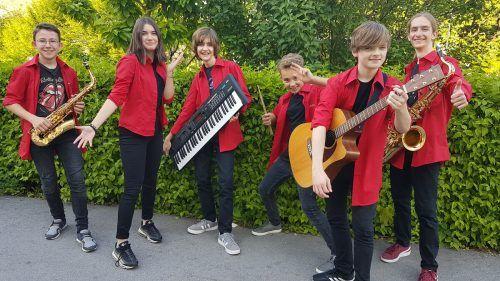 Die JazzTunes spielen am Sonntag im Rankweiler Hof.Musikschule Rankweil-Vorderland
