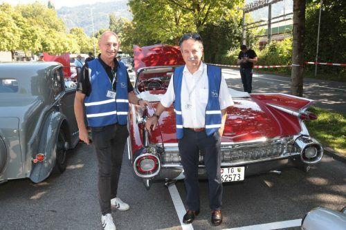 Die Organisatoren: Dr. Johannes Hartl und KR Walter Eberle.