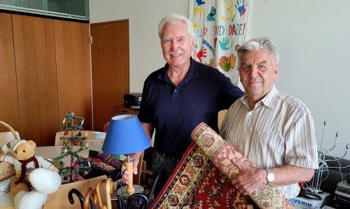 Die Organisatoren Siegfried Kern und Robert Stefani.bms