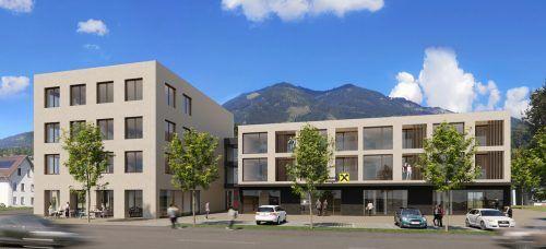 Die Raiffeisenbank im Walgau realisiert in Thüringen ein mehrere Millionen schweres Neubauprojekt.Raiffeisenbank im Walgau