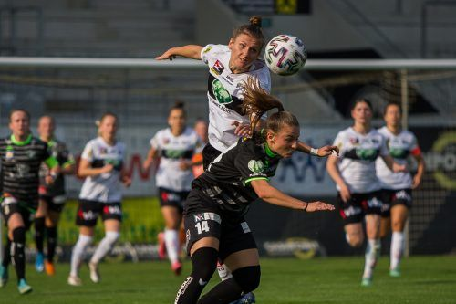 Die SPG Altach/FFC Vorderland kam zuhause gegen Neulengbach zu einem 1:1.steurer
