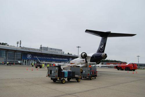 Die Verbindung der Lufthansa nach Frankfurt wird wieder aufgenommen. FDh