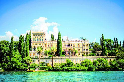 Die Villa Borghese gehört zu den Sehenswürdigkeiten der Insel.