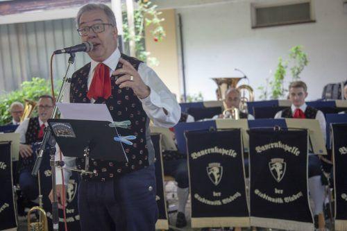 Die Vorfreude bei der Musikfabrik und der Bauernkapelle der Stadtmusik Bludenz ist riesig. Am heutigen Samstag wird im Städtle wieder musiziert.Meznar