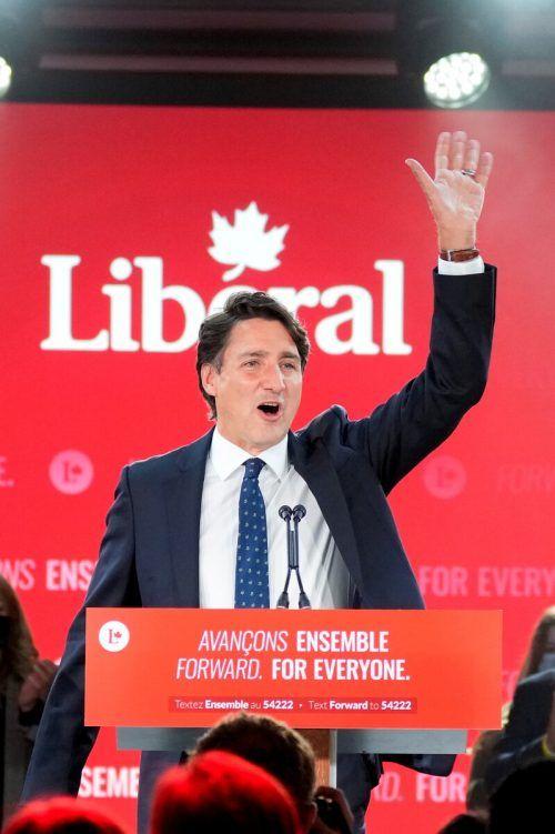 Die vorgezogenen Wahlen brachten Justin Trudeau keine absolute Mehrheit.Reuters