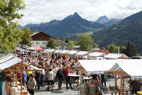 Diesen Sonntag, 26. September, findet von 10 bis 16 Uhr der traditionelle Herbstmarkt in Thüringerberg statt.Titova