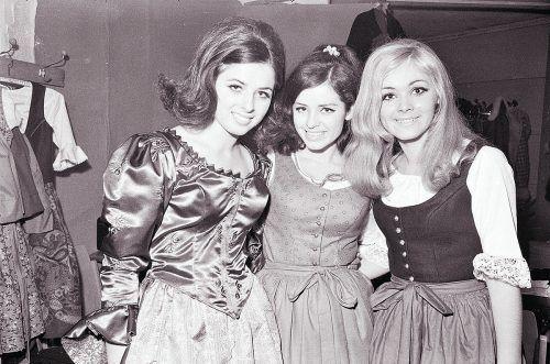 Dornbirn, Wahl zur Miss Vorarlberg in der Messehalle, 1968