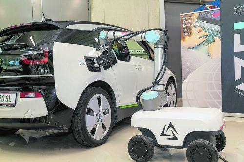 Ein Start-up aus Ried in Oberösterreich will schon im nächsten Jahr den weltweit ersten mobilen und vollautonomen Laderoboter auf den Markt bringen.Alveri