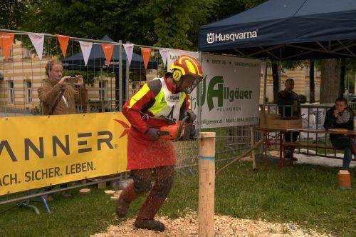 Ein Stelldichein der Forstarbeiterelite versprechen die Bundesmeisterschaften. Forst