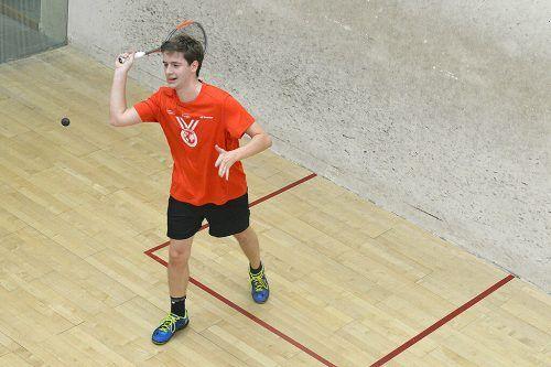 Emanuel Schöpf startete die Austrian Open mit den Rängen zwei und drei. Alex Rieck