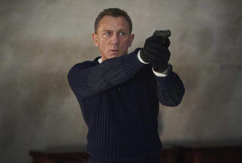 Es ist der letzte 007-Film für den 53-jährigen Daniel Craig. AP