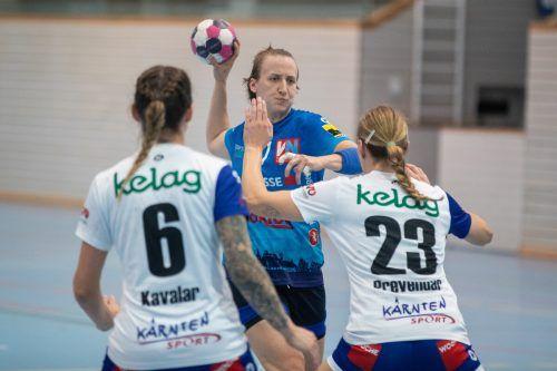 Feldkirch-Goalgetterin Laura Seipelt-Fasching erzielte 13 Treffer.VN/Sams
