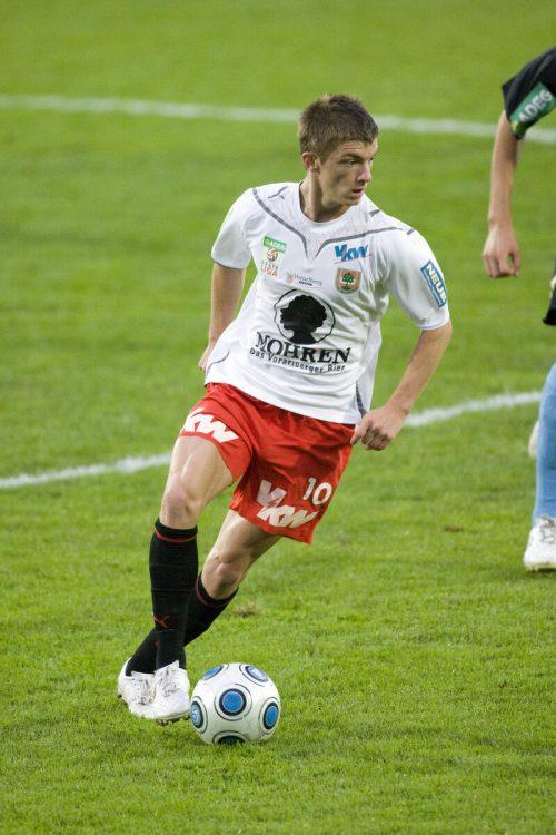 Franco Joppi zählte schon mit 20 Jahren zu den Aktivposten im FCD-Spiel.gepa