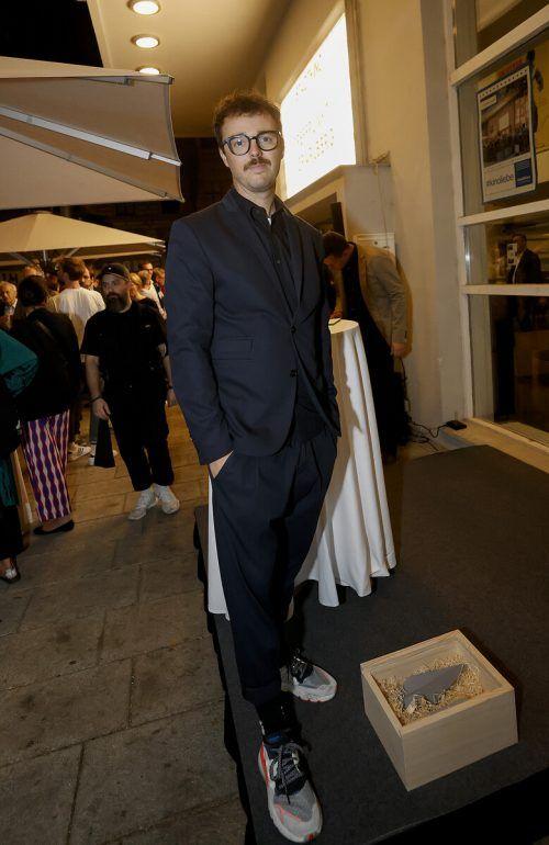 Gastronom Luke Bereuter sorgte für das Wohlder Gäste.