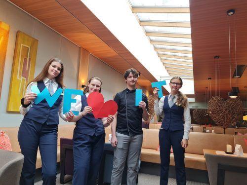 GESUNDHOTEL BAD REUTHE beschäftigt in der Tourismusbranche vier GASCHT-Schüler.