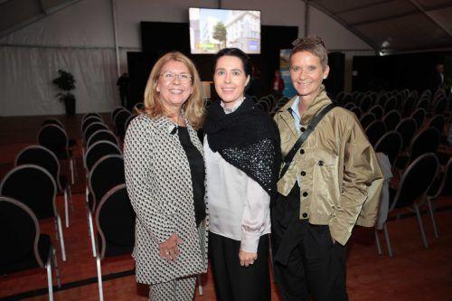 Graziella Hefel, Doris Nußbaumer und Jeanette Moosbrugger.